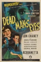 Dead Man's Eyes 1944 DVD - Lon Chaney Jr. / Jean Parker